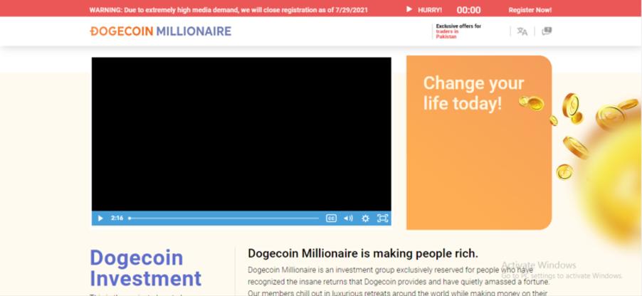 Dogecoin Millionaire